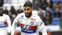 2. Nabil Fekir - Pemain yang akan menjadi rebutan panas transfer musim ini. Tampil apik bersama Lyon di Ligue 1 ditengah dominasi Paris Saint Germain bersama Neymar nya. (AFP/Philippe Desmazes)