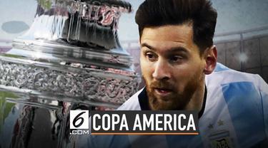 Timnas Argentina bakal memulai perjuangan merebut mahkota juara Copa America pada Minggu (16/6/2019). Lawan pertama yang dihadapi Tim Tango adalah Kolombia.