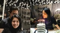 Momen ulang tahun Lulu Tobing ke-43 (Sumber: Instagram/banimmulia/lutob)