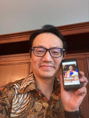 Duta Besar Jepang untuk Indonesia Kanasugi Kenji memberi ucapan selamat kepada Indonesia. (Facebook Kedutaan Besar Jepang di Indonesia)