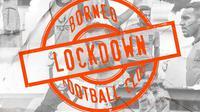 Borneo FC Lockdown. (Dok. Borneo FC)