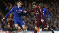 Bek Chelsea, Andreas Christensen (kiri) (AFP/Ian Kington)