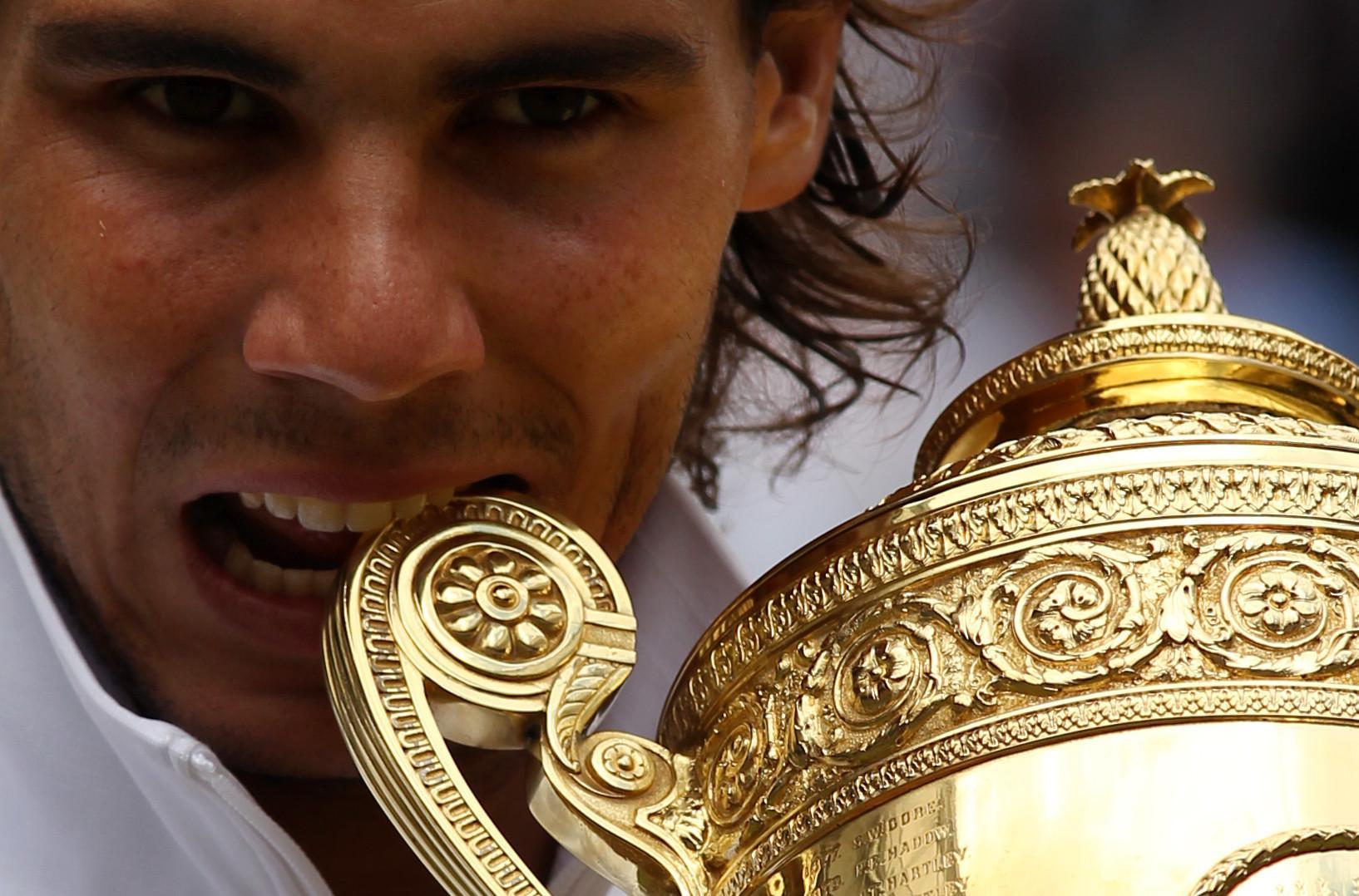 Rafael Nadal. (AFP/Glyn Kirk)
