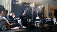 Suasana konfrensi pers film Wiro Sableng 212. (Herman Zakharia/Liputan6.com)