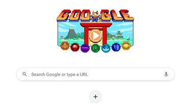 Google Doodle Olimpiade Tokyo 2020 / 2021