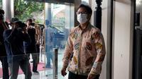 Menteri Kesehatan RI Budi Gunadi Sadikin menemui Komisi Pemberantasan Korupsi (KPK) untuk membahas pengawasan distribusi vaksin COVID-19 di Gedung KPK Jakarta pada 8 Januari 2021. (Dok Kementerian Kesehatan RI)