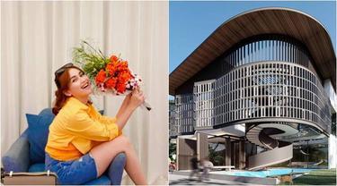 7 Desain Rumah Baru Ayu Ting Ting Di Jakarta, Bergaya Moderen dan Megah