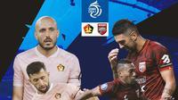 BRI Liga 1 - Duel Antarlini - Persik Kediri Vs Borneo FC (Bola.com/Adreanus Titus)