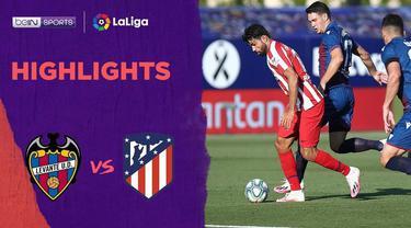 Berita Video Highlights La Liga, Gol Bunuh Diri Levante Berhasil Menangkan Atletico Madrid dengan skor 1-0