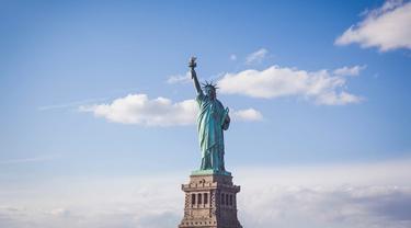 Ilustrasi patung Liberty