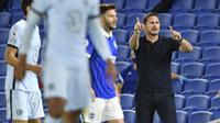 Manajer Chelsea, Frank Lampard. (Glynn Kirk/Pool via AP)