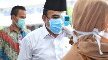 Menag Fachrul Razi Mengunjungi RS UIN Ciputat