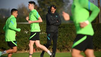 FOTO: Latihan Inter Milan Jelang Lawan Sheriff