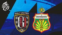 BRI Liga 1 - Bali United Vs Bhayangkara FC (Bola.com/Adreanus Titus)