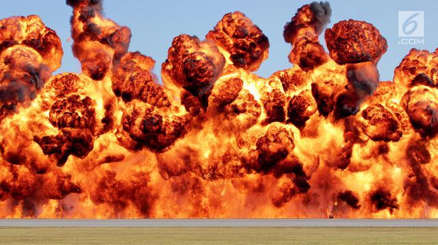 Ilustrasi Foto Ledakan (iStockphoto)