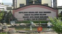 Unit Tipikor Polrestabes Makassar menyelidiki aroma korupsi pada kegiatan lingkup Dispora Makassar tahun anggaran 2018 (Liputan6.com/ Eka Hakim)