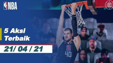 Berita Video 5 Aksi Terbaik NBA 21 April 2021, Slam Dunk Spektakuler dari John Collins
