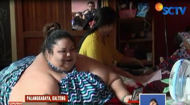 Pihak rumah sakit telah melakukan pemeriksaan kesehatan terhadap penderita obesitas dengan berat 350 kilogram ini.