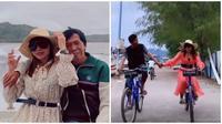 Kiwil dan Eva Belisima tengah menikmati momen bulan madu di Lombok. (Sumber: Instagram/@evabelisima_official)