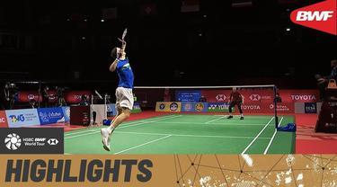 Berita video Viktor Axelsen kembali menjadi juara di Thailand Open 2021 setelah menang dalam partai final yang digelar Minggu (24/1/2021).