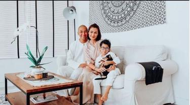 Rumah Marcell Siahaan dan Rima Melati Adams
