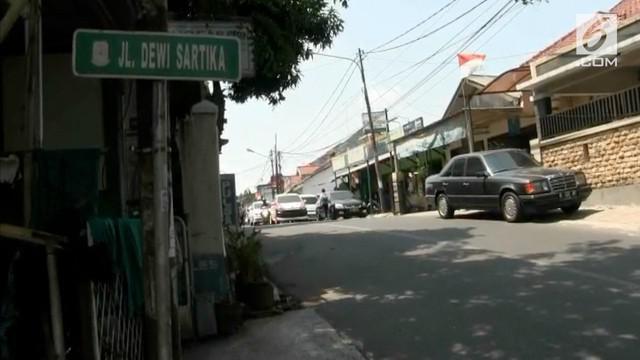 Pemerintah Kota Bekasi, masih menunggu pergantian nama Jalan Dewi Sartika di aplikasi Google Maps yang berubah menjadi Jalan Dewi Persik.