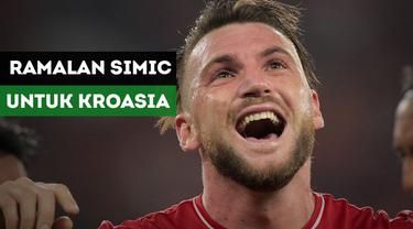 Marko Simic membuat tebakan jitu bagi Kroasia, tim yang didukungnya di Piala Dunia 2018.