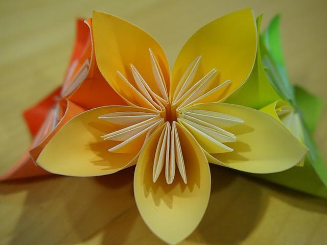 Cara Membuat Bunga Dari Kertas Origami Ini Mudah Bisa Langsung Dicoba Citizen6 Liputan6 Com