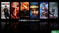 E-sports SEA Games 2019 (Bola.com/Adreanus Titus)