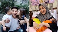 Selebritis Indonesia yang Dikaruniai Anak Kembar (sumber: instagram/@ratnagalih/@ijonkfrizzy)