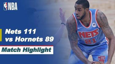 Berita video highlight NBA, Brooklyn Nets Sukses Permalukan Charlotte Hornets 111-89, Jumat (2/4/2021)