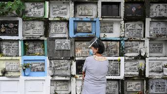 FOTO: Pandemi COVID-19, Pemakaman di Manila Akan Ditutup