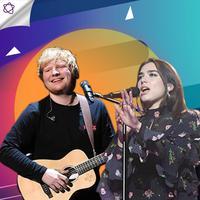 Berikut ini 5 lagu pop terpopuler versi Billboard, mana yang menjadi favoritmu? (Foto: AFP / ANGELA WEISS, Bambang E. Ros/Bintang.com, Desain: Nurman Abdul Hakim/Bintang.com)