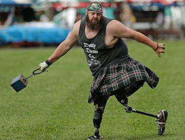 Merayakan Budaya Skotlandia di Grandfather Mountain Highland Games