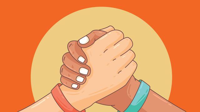 Ilustrasi Merawat Persatuan