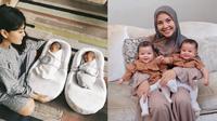 7 Seleb Tanah Air yang Dikaruniai Anak Kembar, Lucu dan Menggemaskan (sumber: Instagram.com/syahnazs dan Instagram.com/ratnagalih)