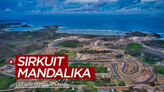 Berita video update pengerjaan yang berlangsung pada akhir Desember 2020 hingga awal Januari 2021 Sirkuit Mandalika untuk MotoGP Indonesia.