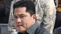 Menteri BUMN Erick Thohir (Liputan6.com/Angga Yuniar)