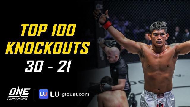 Top 100 Knockouts di One Championship, Pukulan Mematikan Aung La N Sang Jatuhkan Petarung Jepang
