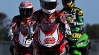 Tiga pembalap AHRT akan tampil pada seri ketiga Asia Road Racing Championship 2018 di Sirkuit Suzuka, Jepang, Sabtu-Minggu (2-3/5/2018). (AHRT)