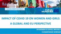 Webinar UN Women via Zoom