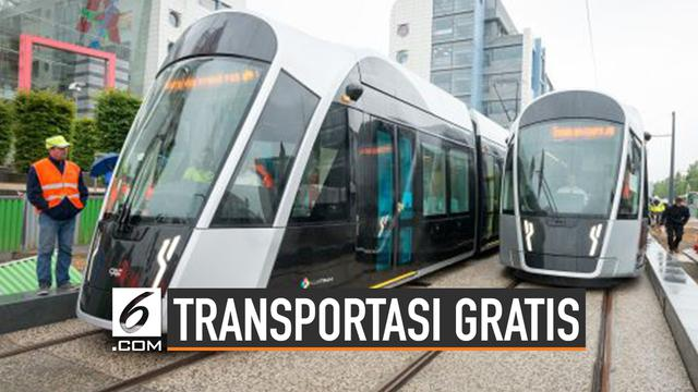 Luksemburg, Negara Pertama Gratiskan Transportasi Umum