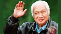 Presiden Indonesia yang menjabat selama 32 tahun, Soeharto itu menyimpan pesan yang tetap relevan hingga kini. Foto: Antara