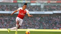 7. Pierre-Emerick Aubameyang (Arsenal) - Speed 94 (AFP/Ian Kington)