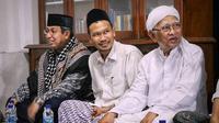Sayid Said Agil Husin Al Munawwar, Gus Baha dan Gus Mus. (Sumber: Instagram/republik.santri)