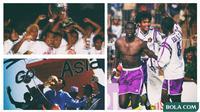 Kolase Persik Kediri Juara (Bola.com/Adreanus Titus/Foto: Gatot Susetyo)