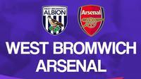 Premier League - West Bromwich Albion Vs Arsenal (Bola.com/Adreanus Titus)