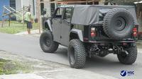Bupati Jember terpilih Hendy Siswanto akan menggunakan mobil Maung buatan PT Pindad. (dok: Instagram @hendysiswantojember)