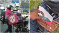 Pelanggan ini beri tip Rp 3,5 juta ke driver ojol asal doakan punya anak. (Sumber: Facebook/We are Malaysians)