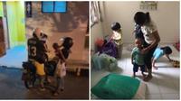 Keluarga ini tinggal di toilet umum dan bahkan tak bisa beli susu untuk anaknya. (Sumber: World of Buzz)